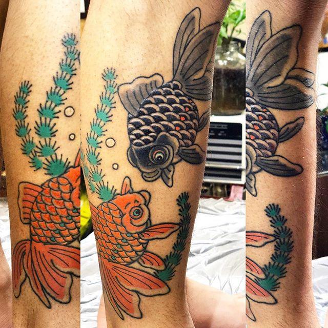 #金魚 #刺青 #タトゥー#japanesetatoo #tattoo - from Instagram
