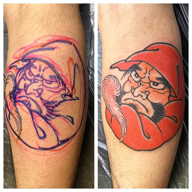 #達磨#刺青 #タトゥー #japanesetatoo #tattoo #daruma #darumatattoo - from Instagram
