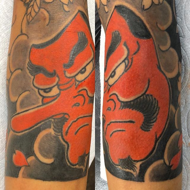 #天狗 #刺青 #タトゥー #tengutattoo #tengu#japanesetattoo #wabori - from Instagram