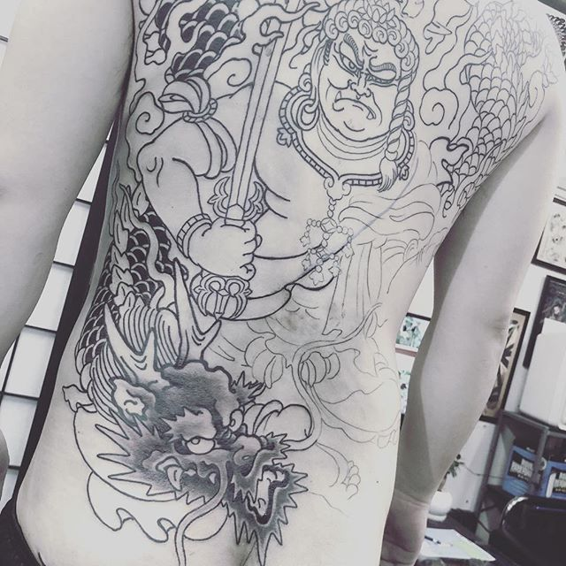 #fudogtattoo #japanesetattoo #tattoo - from Instagram